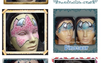 Children's Party Faces 8