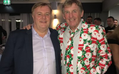 Celebrity Client King Kenny Dalglish!