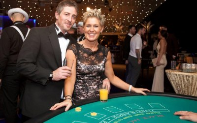 Guests enjoying Blackjack
