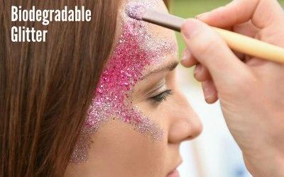Biodegradable earth safe sparkles