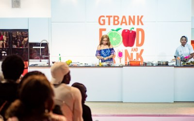 Lerato Master Class at GTBANK Food & Drink Fair