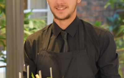 Waiter at a Drinks Reception