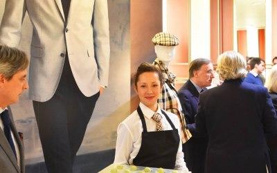 Waitress at Fashion Store
