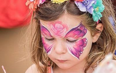 Face painting by Julie-Marie 1