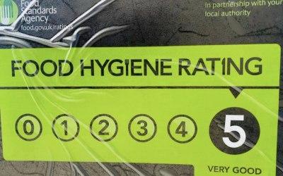 Hygiene rating 5