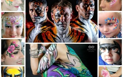 JuliaArts Face Painting and Body Art Castleford Tigers Castigers