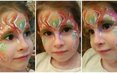 JuliaArts Fae Face Painting