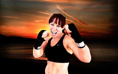 Location portrait Sunrise Kick-boxer