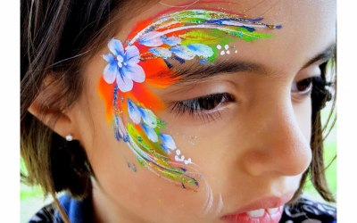 Tick Boom Face Painting & Body Art 9