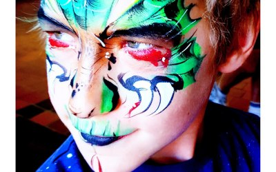 Tick Boom Face Painting & Body Art 6