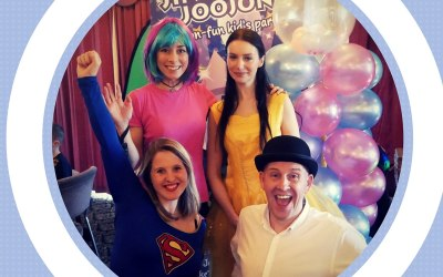 Creative, energetic, fun, talented and experienced - our fab team of party hosts!