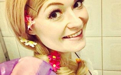 Rapunzel - let down your hair!