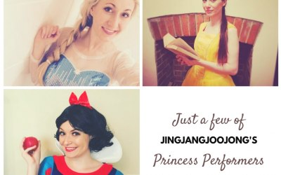 Just some of our princess performers