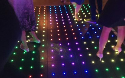 Dance floor in action