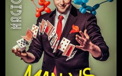 Man Vs. Balloon: the definitive balloon magic show