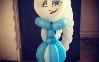 Bespoke Elsa Balloon for a 6th Birthday party
