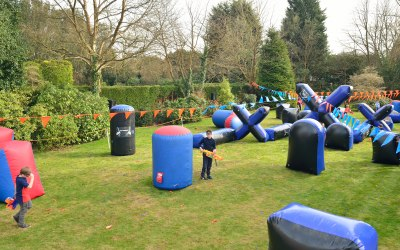 Nerf Garden Party Sevenoaks, - 40 children
