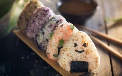 Onigiri - savoury rice snacks