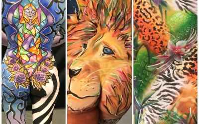 Funky Faces Facepainting and Body Art 4