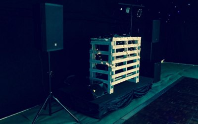 Bespoke pallet booth, other options available.