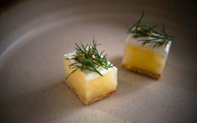 Salt Baked Celeriac . Fennel . Goat Cheese