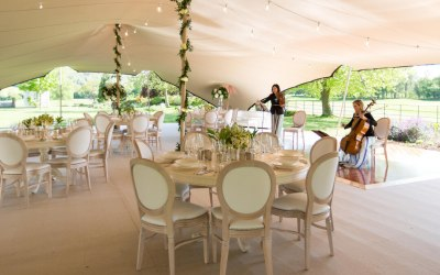 Stretch Tent Hire Interior