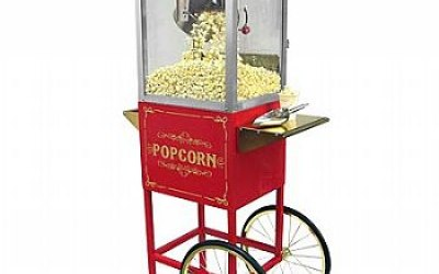 Traditional Popcorn Machine