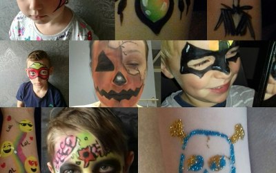Pixies and Pirates Face Paint 5