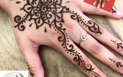 We can supply a henna artists