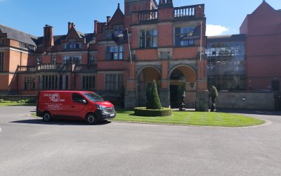 One of our AV vans at Venue.