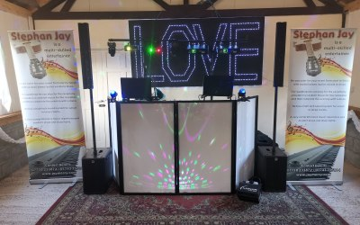 Disco with Love Sign