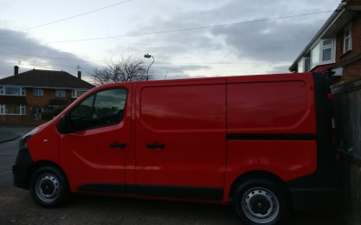 One of our new Company vans