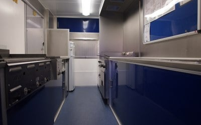 Our First class Mobile Kitchen