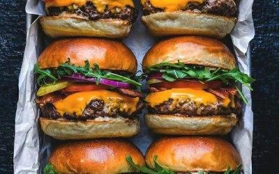 Huge Selection of Gourmet Burgers