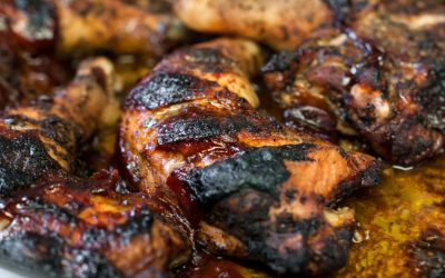 Our Mouth Watering Jerk Chicken