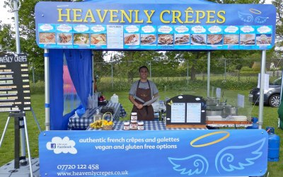Crepes and Waffles stand available for hire