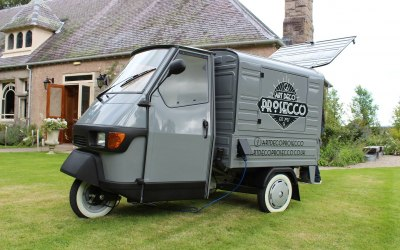 'Fizzy' our Prosecco Van