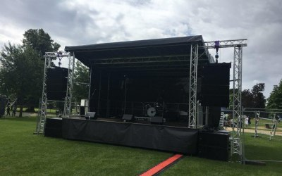 Stage and PA Hire