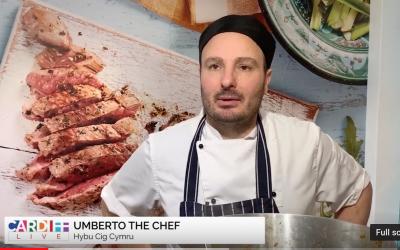 Your chef Umberto