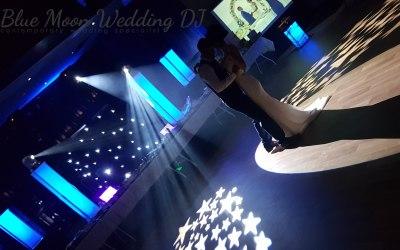 Spotlighting the first dance