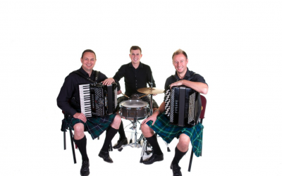 Pentlands Ceilidh Band CD cover