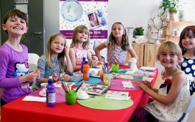 Pottery Painting Parties