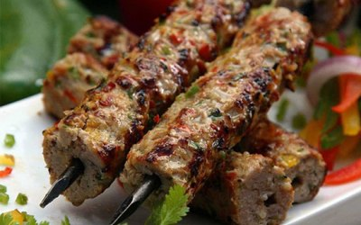 Lamb Seekh - Clay oven cooked