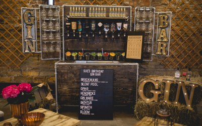 Our Mobile Gin Bar is a must at any event..