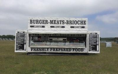 Burger meats brioche