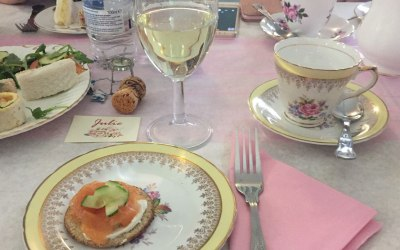 Place Setting at an Afternoon Tea Party