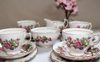 Beautiful Vintage China available to hire