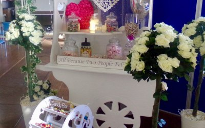 Wedding Cart with sweets from £75