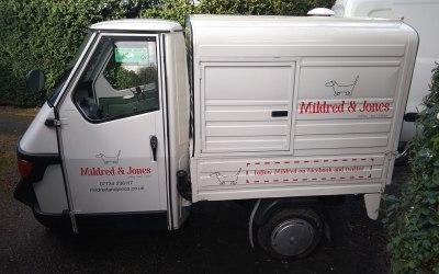 Our lovely little van