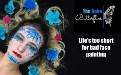 The Boho Butterflies - Face Artists 1